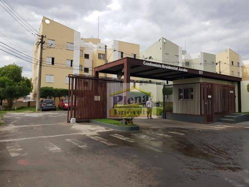 Imagem 1 de 12 de Apartamento Com 2 Dormitórios À Venda, 49 M² Por R$ 140.000 - Jardim Nova Hortolândia I - Hortolândia/sp - Ap0996