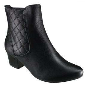 Bota Ankle Boot Usaflex Q6658/41 | Katy Calçados