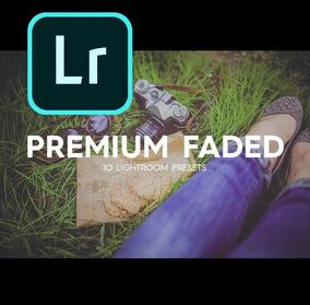 Premium Faded Profissional Lightroom Presets - Desbotado