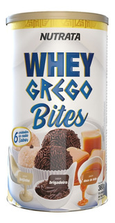 Whey Grego Bites Cream - 20 Gr - Lata Display Com 18 Barras
