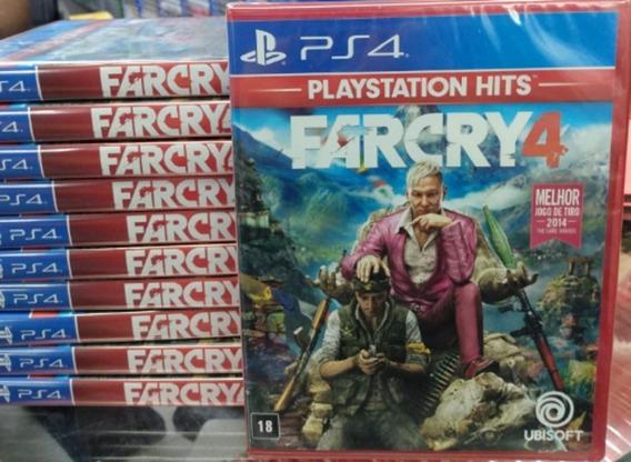 Far Cry 4 Ps4 Mídia Física Novo Lacrado Pronta Entrega