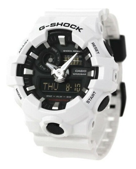 Relógio Casio G-shock Ga-700 Analog-digital Watch Ga700-7a