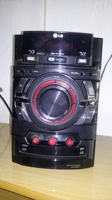 Mini Hi-fi System Lg 160 W 2 Caixas De Som