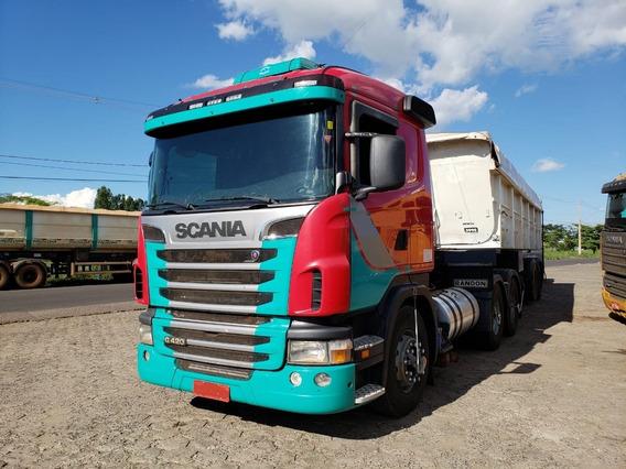 Scania G 420 A 6x4 Bug Leve (vt)