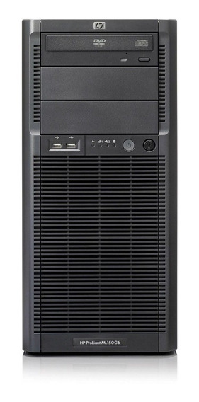 Servidor Hp Proliant Ml150 G6, Intel Xeon Quadcore X5550, 8 Gb Ram Ddr3, Hd 500gb, Rede Gigabit, Garantia De 90 Dias