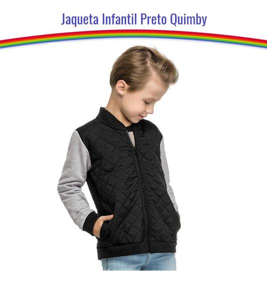 Jaqueta Moletom Infantil Masculino Quimby