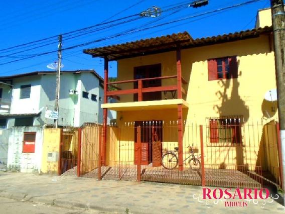 Casa Térrea ( Parte De Baixo Do Sobrado) Para Locação Definitiva À 30 Metros Da Praia. - Ld204