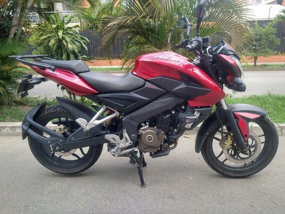 Pulsar 200 Ns Modelo 2015 Roja