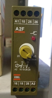 Rele Temporizador A2f 20-80 Imp/min 110vca Coel