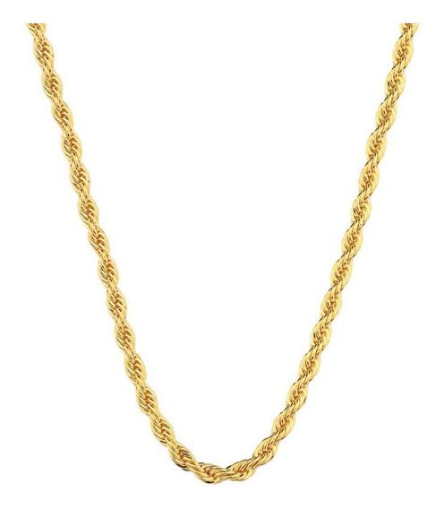 Corrente Feminina Cordão Baiano Ouro 18k-750 40cm