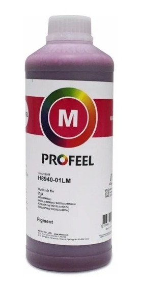 Tinta Pigmentada Inktec Profeel Magenta Hp 8100 8600 8610 1l