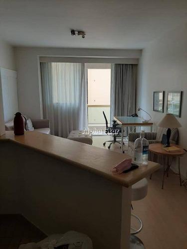Flat Com 1 Dormitório, 60 M² - Venda Por R$ 350.000,00 Ou Aluguel Por R$ 3.000,00/mês - Alphaville Industrial - Barueri/sp - Fl0037