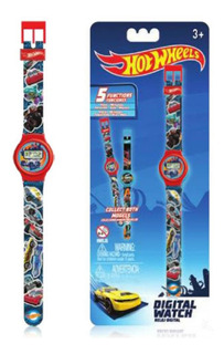 Reloj Digital De Pulsera Hot Wheels Intek