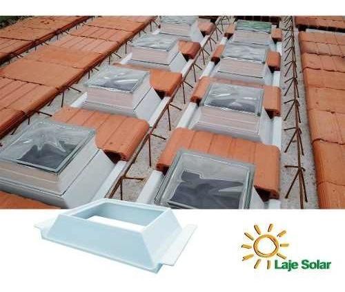 10 Suportes H8 Laje Solar Ecolaje P Tijolo Vidro Promoção