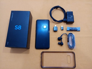 Samsung S8 Impecable Con Caja Y Accesorios - Liberado -