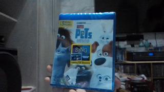 Blu-ray Pets A Vida Secreta Dos Bichos Lacrado Frete 9 R$