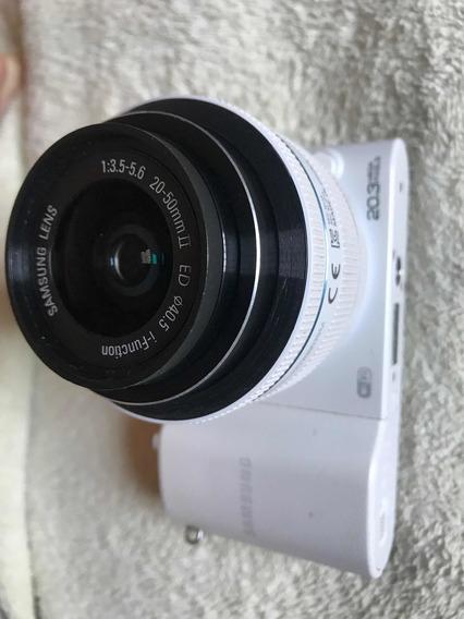 Smart-câmera Digital Samsung Nx1000 20.3mp Wi-fi Fullhd