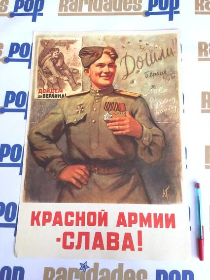 Cartaz Pôster 2ª Segunda Guerra Mundial Reich Nazismo 1946