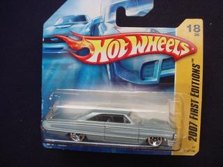 Miniatura Hot Wheels Serie 2007 64 Ford Galaxie 500 Xl
