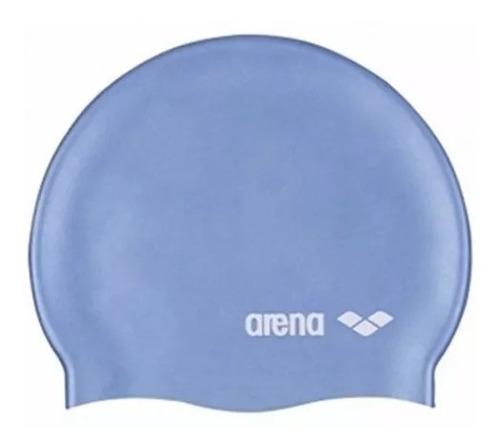 Imagem 1 de 1 de Touca Natação Piscina Classic Logo Silicone Arena Unissex