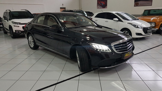 Mercedes-benz C-180 Exclusive Blindada 2018/2019 Só 17.000km