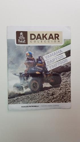 Libro Coleccion Dakar Yamaha Raptor Ymf 700r