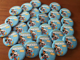 Pin Prendedor Disney World Original Happy Birthday Mickey
