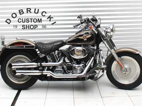 Harley Davidson Softail Fat Boy Edição De Aniversário