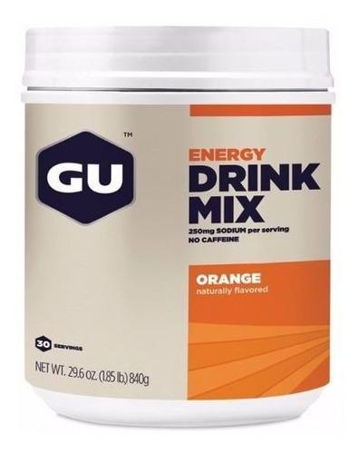 Gu Energy Drink Mix Laranja 840g Gatorade Eletrolítico 12/19