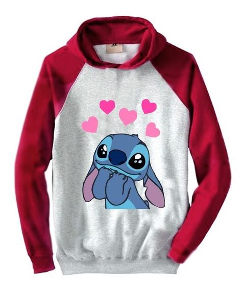 Buzo Cute Lilo & Stitch Love Largo