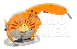 Maquina De Corte Tecido Motor Direct Drive 110v Laranja