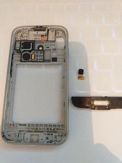 Carcaça Celular Samsung Galaxy J1 Mini Botão Camera Som Vibr