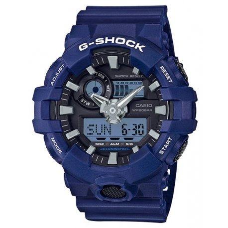 Relogio Casio G-shock Ga-700-2adr Azul Original