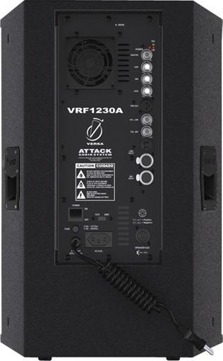 Caixa De Som Attack Vrf1230a Vrf 1230 - Caixa Ativa Profissional Amplificada