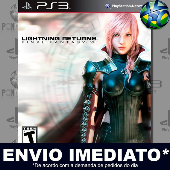 Lightning Returns Final Fantasy Xiii 13 Ps3 Psn Jogo Promo