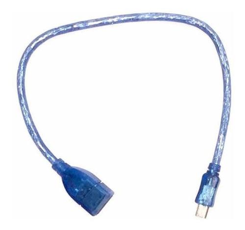 Cable Adaptador Mini Usb De 5 Pines A Usb Hembra Autoradio