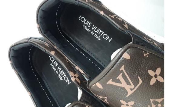 Tênis Sapatênis Slip On Louis Vuitton