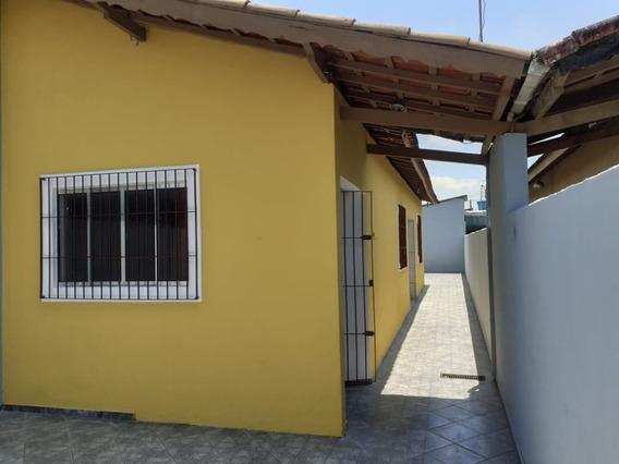 4274- Casa 1 Dormitório Aceita Financiamento Bancário 1500 M