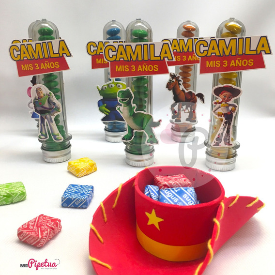 Souvenirs Carameleros Toy Story Woody Jessie Sombrero Cumple
