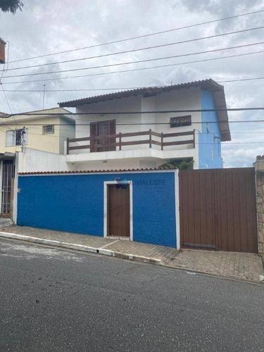 Sobrado Com 3 Dormitórios À Venda, 250 M² Por R$ 1.100.000,00 - Parque São Lucas - São Paulo/sp - So0386