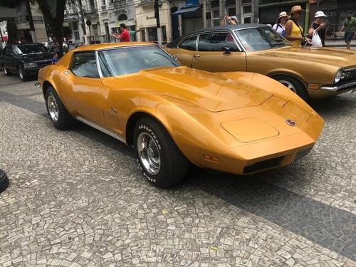 Imagem 1 de 13 de Corvette Stingray 1973 Chevrolet Cambio Manual