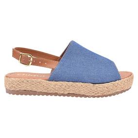 5d4ac6d5d0 Sandálias e Chinelos para Feminino Azul-claro no Mercado Livre Brasil