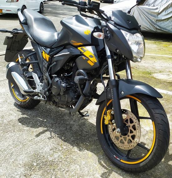 Suzuki Gixxer 155cc- 2019- Negro Mate