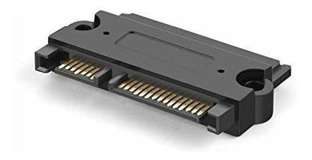 Imagen 1 de 2 de Cablecreation Sata 22pin (7 + 15 Pin) Macho A Sata De 22 Pin