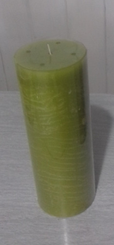 Velón 7 X 20 Cm, Falabella, Color Verde