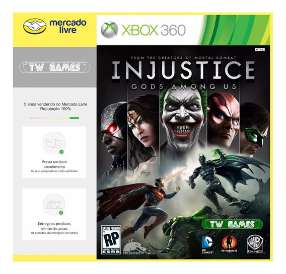 Injustice Gods Among Us Digital Xbox One Xbox 360
