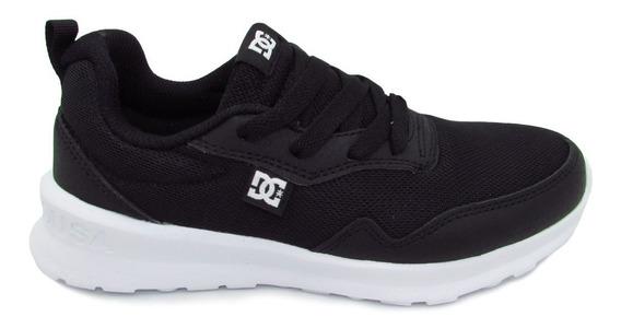 Tenis Dc Shoes Hartferd Adbs700077 Bkw Black White Negro