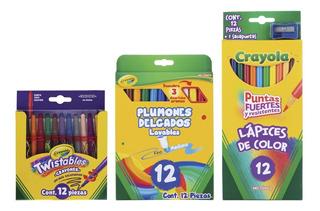 Kit Escolar Crayola