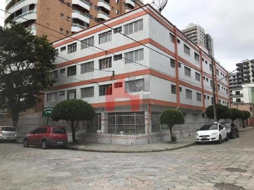 Apartamento Com 1 Dormitório À Venda, 42 M² Por R$ 140.000 - Vila Guilhermina - Praia Grande/sp - Ap1614