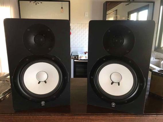 Monitor Referência Yamaha Hs8 + Placa De Áudio Safire Focus